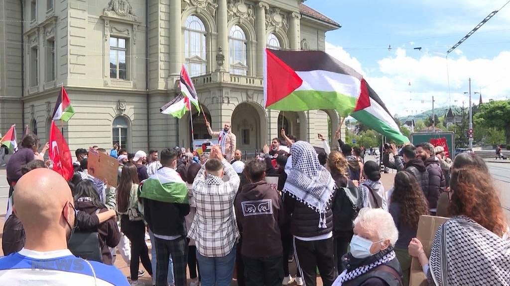 Solidaritätskundgebung für Palästina in Bern