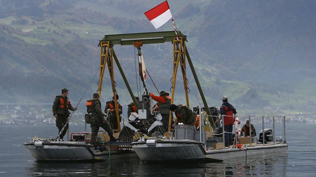 Seen sind weitgehend frei von Sprengstoff- und Schwermetallspuren