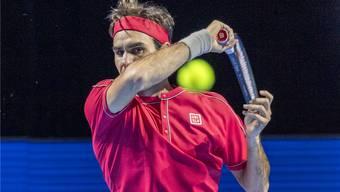 Im Halbfinal trifft Roger Federer heute auf Stefanos Tsitsipas.