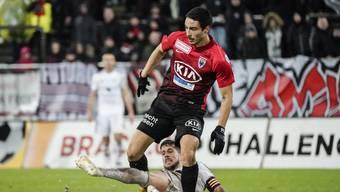 Einst im Dienste des FCA, nun kehrt er mit Chiasso zurück zum Brügglifeld: Mickael Almeida.