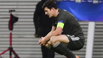 Harry Maguire, der Captain von Manchester United, ist in der Gruppenphase gescheitert