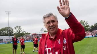 Fühlt sich an der Säbener Strasse wohl: Bayern-Coach Carlo Ancelotti.