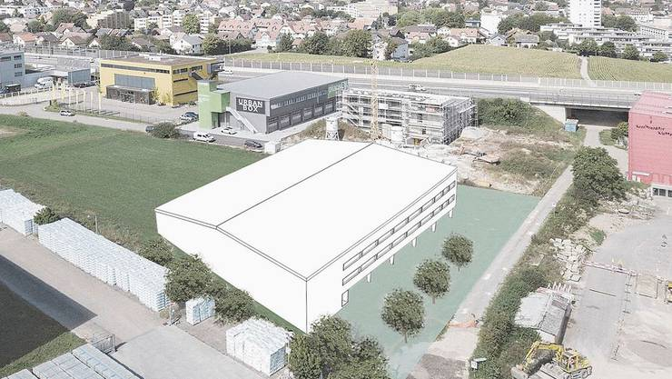 Der Neubau trägt den Projektnamen «Magnesiaklotz».