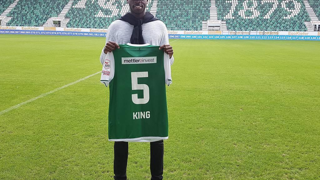 Yrondu Musavo-King spielt neu für den FCSG.