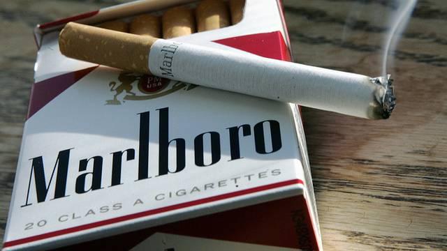 Gewinn des Herstellers von Marlboro-Zigaretten ist geschrumpft (Symbolbild)