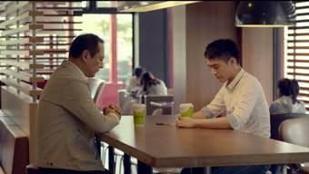 Wirbt für mehr Akzeptanz: Der Spot von McDonald's Taiwan.