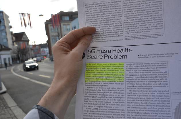 Der Artikel im Magazin «Bloomberg Businessweek».