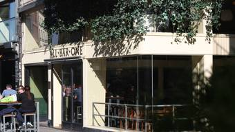 Das Lokal «All Bar One» in der Basler Kinostrasse.