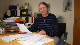 Judith Dominguez, Leiterin des Wohn- und Pflegezentrums Stadelbach. (Archivbild)