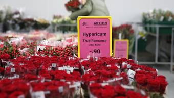 Ausgaben für Valentinstag rückläufig (Archivbild)
