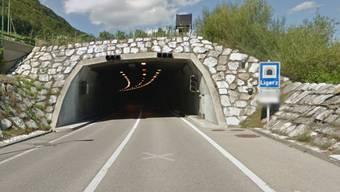 Der westliche Eingang des Ligerztunnels.