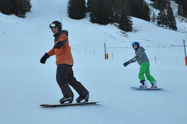 Snowboard Unterricht