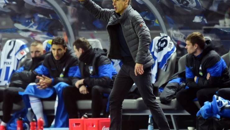 Selbst bei Hertha-Coach Jürgen Klinsmann ist das Lächeln unterdessen verschwunden