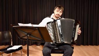 «Es ist immer ein besonderes Erlebnis, wenn der Auftrittsort so warm und familiär ist», sagt Aleksandar Aleksandrović.