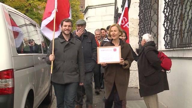 Grossoffensive der SP-Solothurn