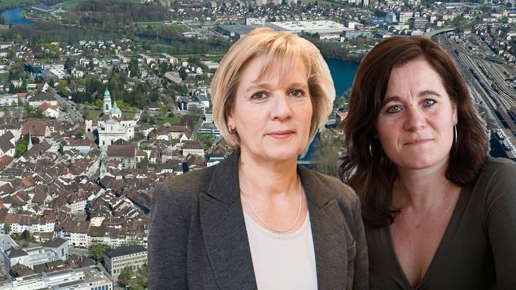 Brigit Wyss und Franziska Roth schwingen in Solothurn obenauf.