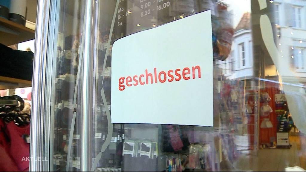 «Wettbewerbsverzerrung»: Gewerbeverband fordert Wiedereröffnung der Läden