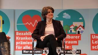 Stand im Mittelpunkt SP-Regierungsratskandidatin Kathrin Schweizer.