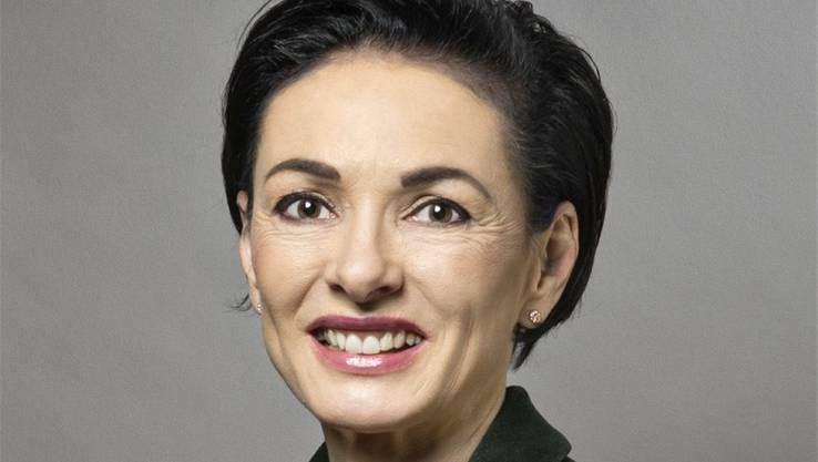 Marianne Binder (CVP): «Ich glaube, dass wir gewinnen können, wir haben die grösste Hausmacht.»