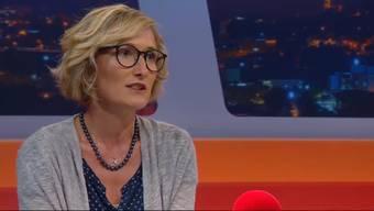 Überraschende Aussagen in der Sendung «TalkTäglich» auf Tele M1 am Dienstagabend: Susanne Hochuli sieht neben Grünen-Kollege Lüscher SVP-Fraktionschef Jean-Pierre Gallati als geeigneten Gesundheitsdirektor.