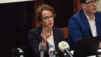 Eva Herzog startet in den Wahlkampf.