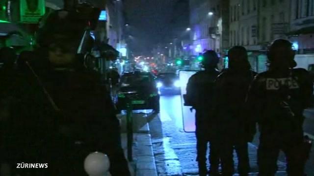 Paris: Ausschreitungen nach Präsidentschaftswahl