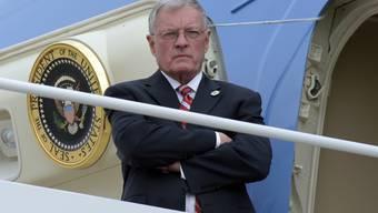 Hat kommissarisch das Amt des Nationalen Sicherheitsberaters inne und könnte dieses nach Meinung des US-Präsidenten Donald Trump auch dauerhaft behalten: Keith Kellogg.