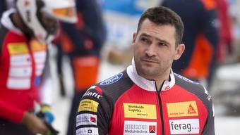Der St. Galler FDP-Nationalrat Marcel Dobler träumt als Bobfahrer von einer Olympia-Teilnahme.