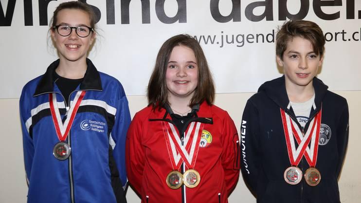 In der U15 gewann Gina Gyger.