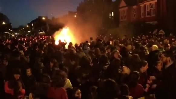 Explosion beim jüdischen Fest Lag BaOmer