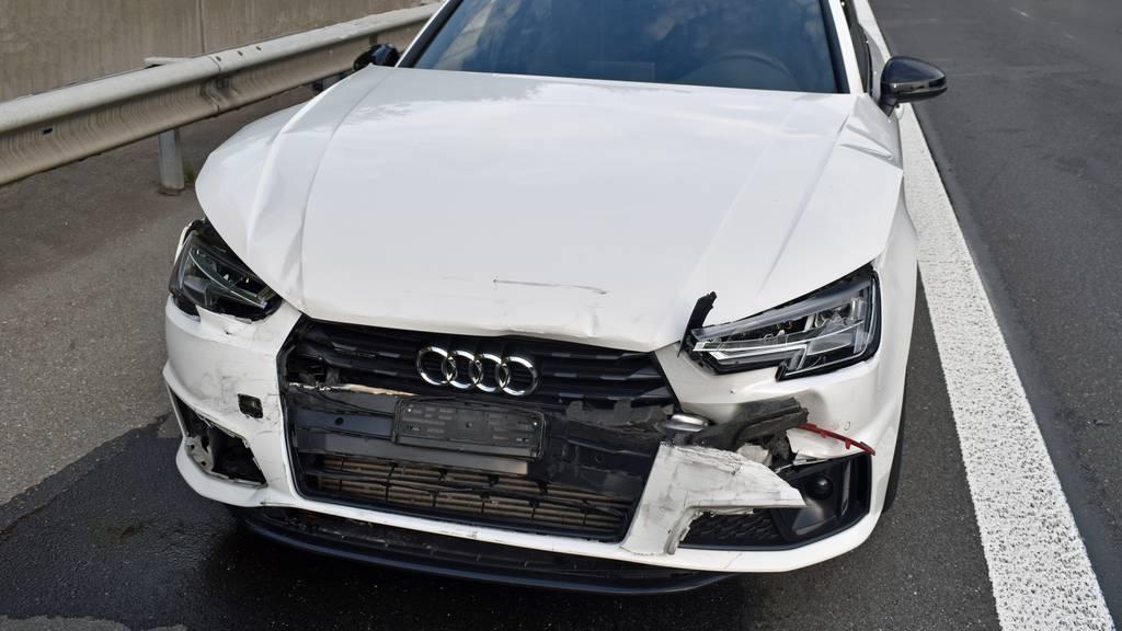 Auffahrunfall auf der A2 – drei Autos abgeschleppt