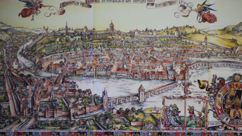 Luzern - einst ein Fischerdorf