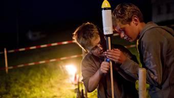 Im Bernischen dürfen am 1. August Raketen trotz Trockenheit steigen gelassen werden. (Symbolbild)