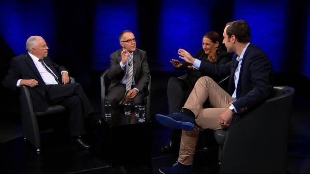 SVP-Wahlkampf —Bischof Huonder — Mister Europa