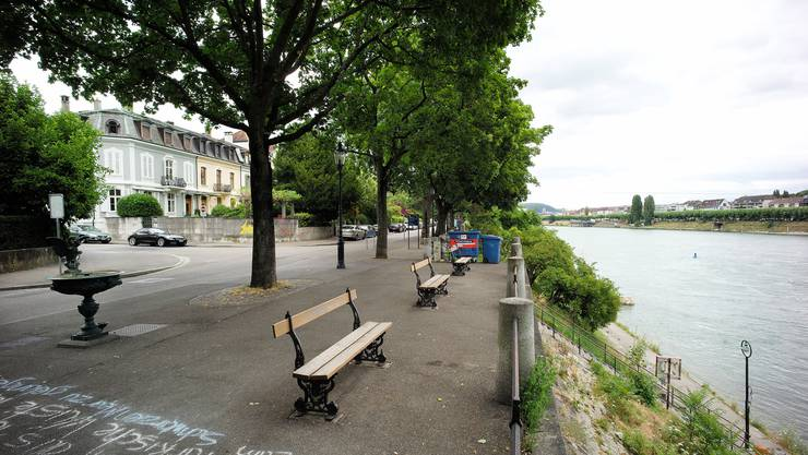 Das Rheinufer soll bald verschönert werden.
