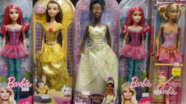 Besonders gefragt: Modepuppen wie Barbie.