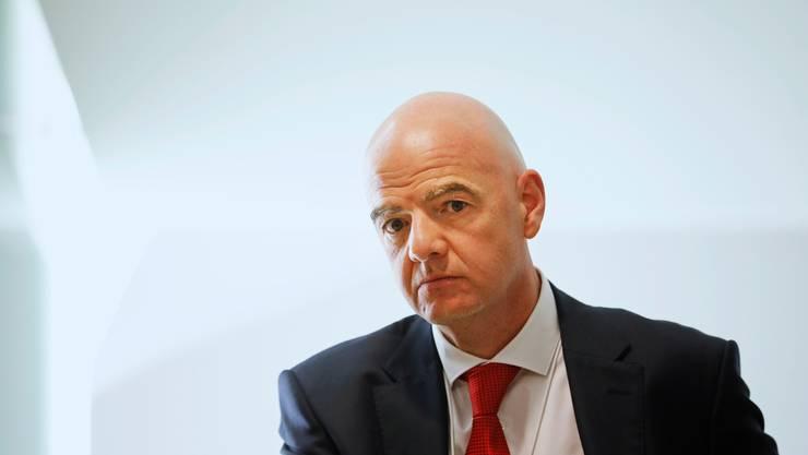 Die Schweizer Staatsanwaltschaft eröffnete ein Strafverfahren gegen Fifa-Präsident Gianni Infantino.