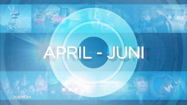 Jahresrückblick- Apr – Juni
