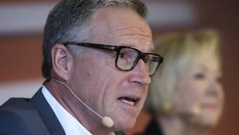 Andreas Meyer, CEO der SBB, hat am Mittwoch seinen Rücktritt verkündet. Er wird das Unternehmen spätenstens Ende 2020 verlassen.
