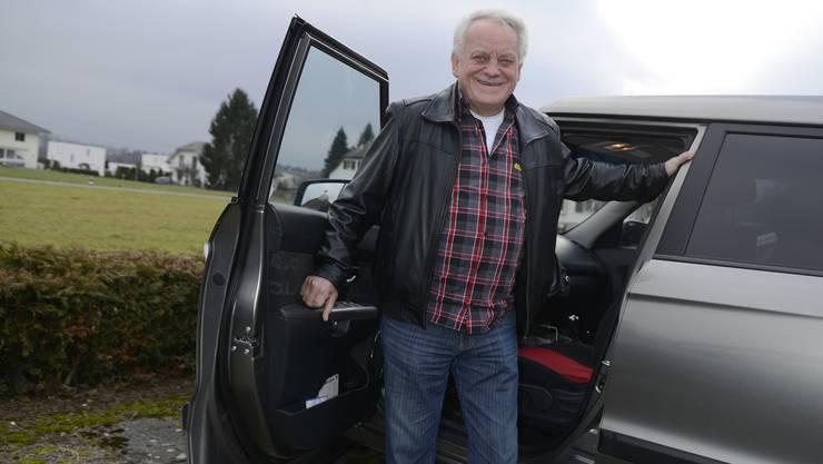 Mehrmals wöchentlich ist der Flumenthaler Christian Ryf mit seinem Auto unterwegs. Auf bis zu 25 000 Kilometer pro Jahr bringt er es.