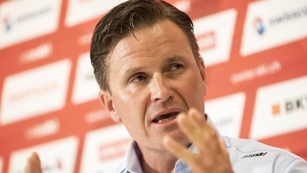 Swiss-Ski-Präsident Lehmann erklärt seine Vision für Wengen