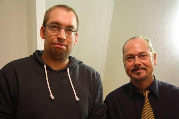 Der neue und der abtretende Präsident: Thomas Schnetz und Chris van der Broecke.