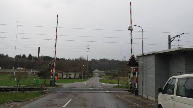 An mehreren Bahnübergängen in Kölliken waren Vandalen am Werk.