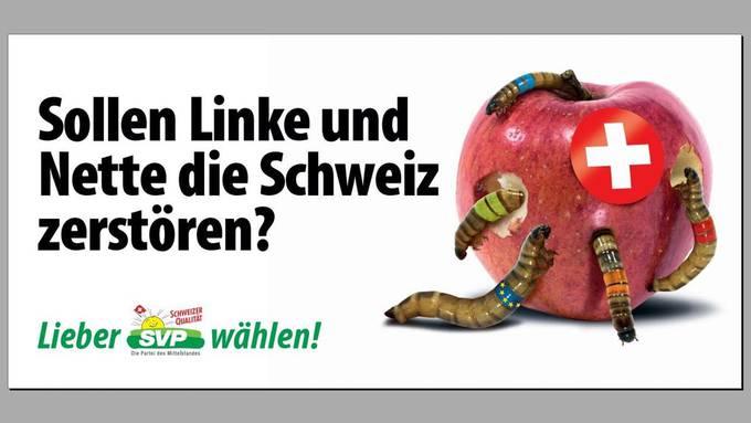Die SVP sieht nicht nur die Linken als Konkurenz, Christoph Busers abgekapselte Wahlkampagne gehört ebenfalls dazu. (Symbolbild)