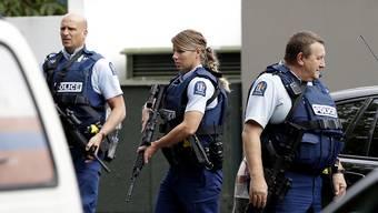 Sicherheitskräfte haben am Freitag nach einem Amoklauf die komplette Innenstadt von Christchurch, einem Ort in Neuseeland, abgeriegelt.
