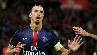 Ibrahimovic war an allen drei PSG-Toren beteiligt
