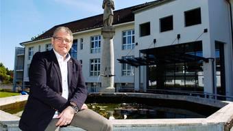 Spitaldirektor René Huber.