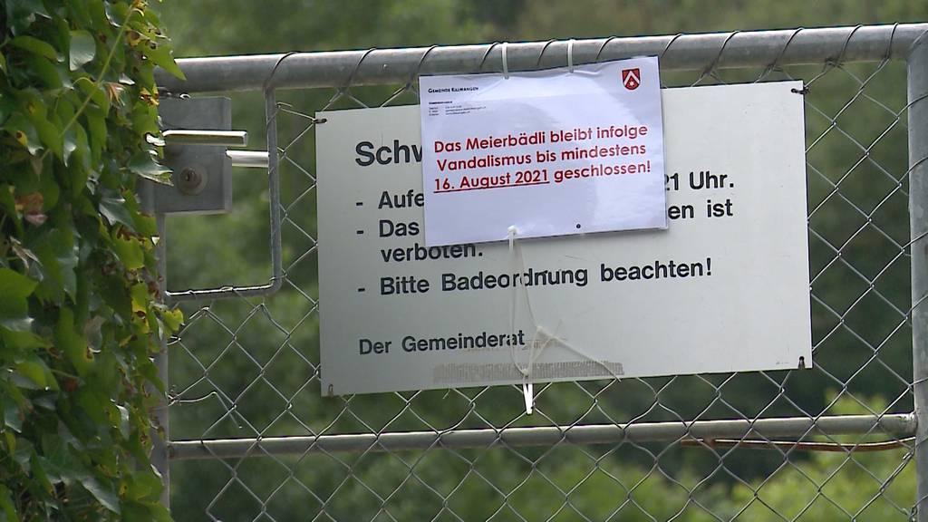 Das Freibad in Killwangen bleibt wegen Glassplitter geschlossen