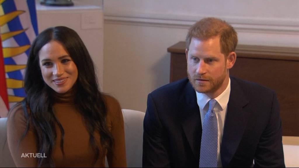 Prinz Harry und Meghan legen königliche Pflichten ab