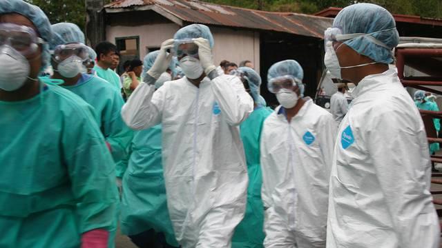 In Uganda geht die Angst vor Ebola um - 33 Menschen werden isoliert (Symbolbild)